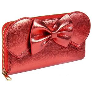 Disney Minnie Mouse Faux-Leather Purse Red