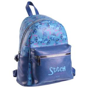 Disney Stitch Experiment 626 Faux-Leather Backpack
