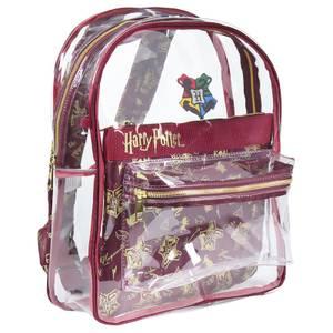 Harry Potter Hogwarts Transparent Backpack