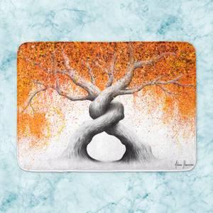Twisting Love Trees Bath Mat