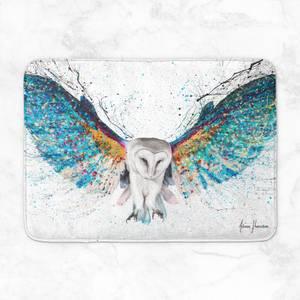 Opulent Night Owl Bath Mat
