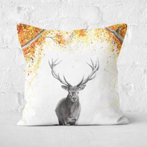 The Deer Dreamer Square Cushion