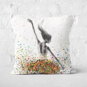The Dance Dreamer Square Cushion