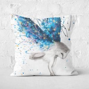 The Spirit Owl Square Cushion