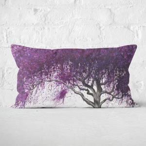 Violet Shadows Rectangular Cushion