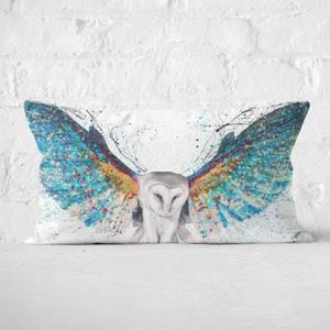 Opulent Night Owl Rectangular Cushion