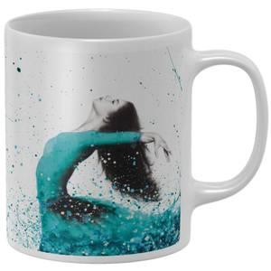 Turquoise Ocean Dancer Mug