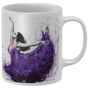 Purple Rain Ballet Mug