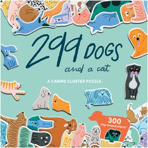 299 Dogs and a Cat Cluster Puzzle