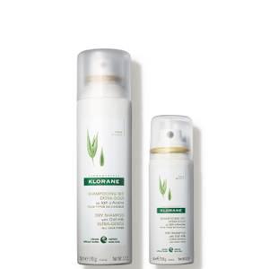 Klorane Oat Milk Dry Shampoo Set (Worth £30.00)