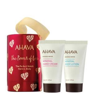 AHAVA The Perfect Match Hand and Body Set (Worth $22.00)