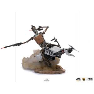 Iron Studios Star Wars The Mandalorian Deluxe Art Scale Statue 1/10 IG-11 & The Child 20 cm