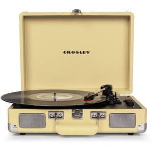 Crosley Cruiser Deluxe Portable Turntable - Fawn