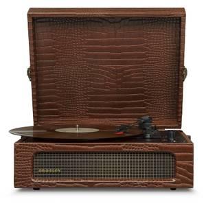 Crosley Voyager Portable Turntable - Brown Croc