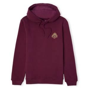 Harry Potter Hogwarts Signature Unisex Hoodie - Burgundy