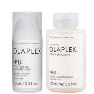 Olaplex Bond Repair Treatment and Moisture Mask Bundle