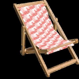 Decorsome x Jurassic World Pink Mix Deck Chair