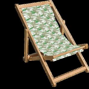 Decorsome x Jurassic World Mix Green Deck Chair