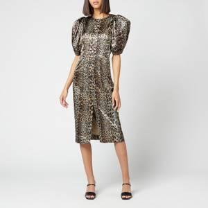 ROTATE Birger Christensen Women's Katarina Dress - Dijon
