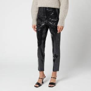 ROTATE Birger Christensen Women's Jeanine Pants - Black