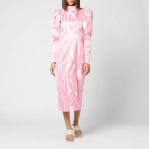 ROTATE Birger Christensen Women's Theresa Dress - Aurora Pink