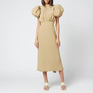 ROTATE Birger Christensen Women's Dawn Dress - Kelp