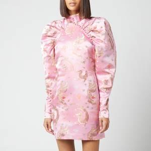 ROTATE Birger Christensen Women's Kim Dress - Orchid Pink