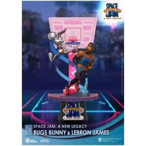 Beast Kingdom Space Jam: A New Legacy D-Stage Diorama - Bugs Bunny & LeBron James