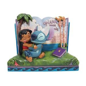 Disney Traditions Lilo & Stitch Story Book Figurine