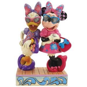 Disney Traditions Fashionista Minnie and Daisy Figurine