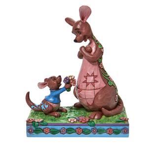 Disney Traditions Winnie the Pooh Roo And Kanga Figurine