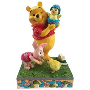 Disney Traditions Winnie the Pooh Easter Pooh And Piglet Figurine