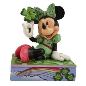 Disney Traditions St Patrick's Day Minnie Figurine