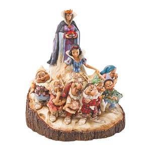 Disney Traditions Snow White The One That Started Carved by Heart Figurine
