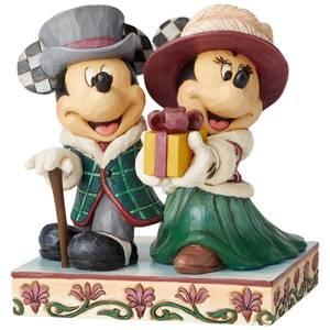 Disney Traditions Mickey & Minnie Elegant Excursion Figurine