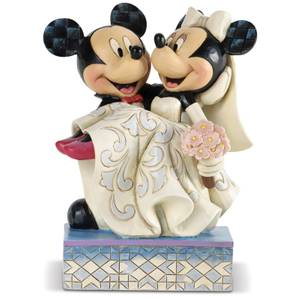 Disney Traditions Congratulations Mickey & Minnie Figurine