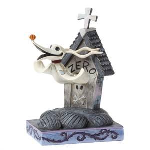 Disney Traditions Nightmare Before Christmas Floating Friend Zero Figurine
