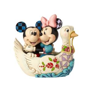 Disney Traditions Lovebirds Mickey & Minnie Mouse Figurine