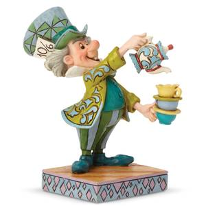 Disney Traditions 'A Spot Of Tea' Mad Hatter Figurine