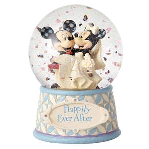 Disney Traditions Happily Ever After Mickey & Minnie Waterball