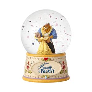 Disney Traditions Beauty and the Beast Moonlight Waltz Waterball