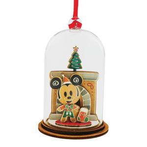 Enchanting Disney Santa Please Call Here Mickey Mouse Figurine