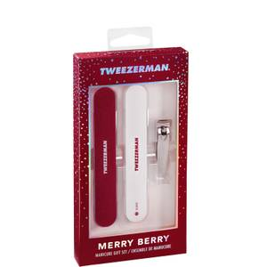 Tweezerman Merry Berry Manicure Gift Set