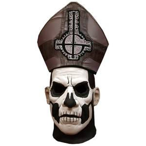 Trick or Treat Ghost Papa Ii Deluxe Hat And Mask