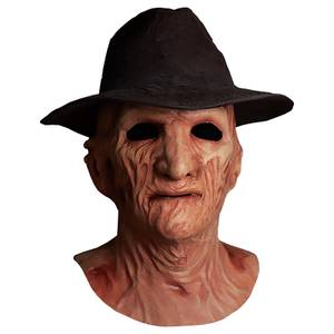 Trick or Treat Nightmare On Elm Street 2 Freddy's Revenge Deluxe Freddy Mask With Hat