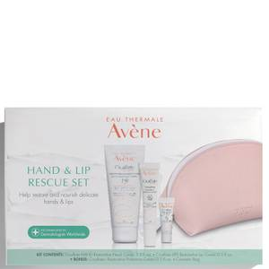Avène Hand and Lip Rescue Set (Worth $46.00)
