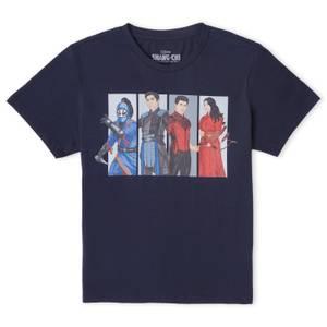 Shang-Chi Group Pose Men's T-Shirt - Navy
