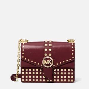 MICHAEL Michael Kors Women's Greenwich XS Cross Body Bag - DK Berry