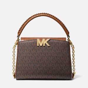 MICHAEL Michael Kors Women's Sm Th Xbody Bag - Chesnut