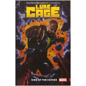 Marvel Comics Luke Cage Trade Paperback Vol 01 Sins Of The Father Graphic Novel